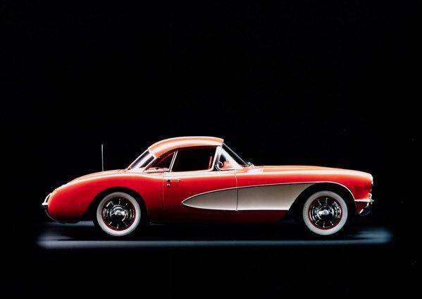In 1956, Corvette C1 primeste cateva modificari estetice importante