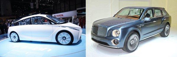 Toyota FT-Bh vs. Bentley EXP 9 F
