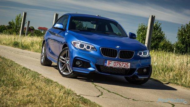 Test în România cu BMW 220d xDrive Coupé. Mult-prea-cerebralul