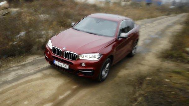 Test în România cu BMW X6 M 50d. Huliganul care a dat un exemplu de urmat