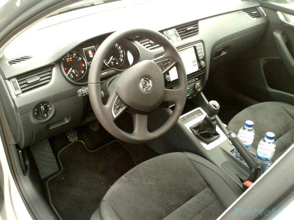 Skoda Octavia 3 interior