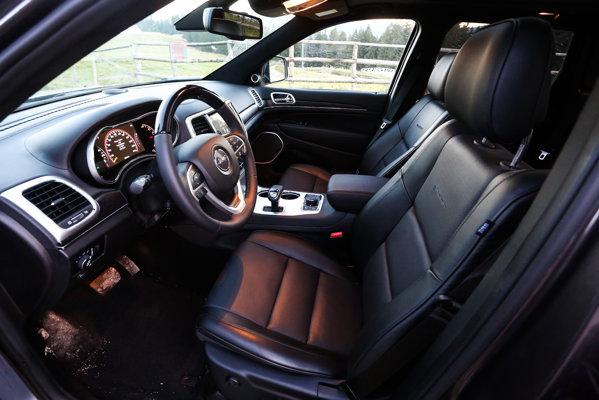 Jeep Grand Cherokee facelift interior