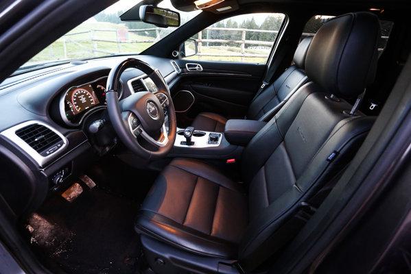Jeep Grand Cherokee facelift interior