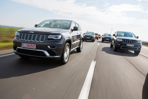 Jeep Grand Cherokee facelift 2013