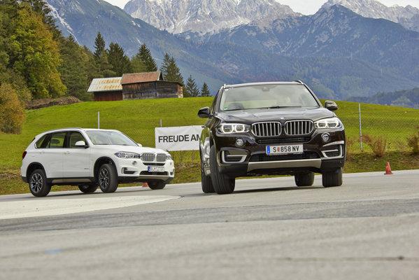 BMW X5 M50d si BMW X5 M30d