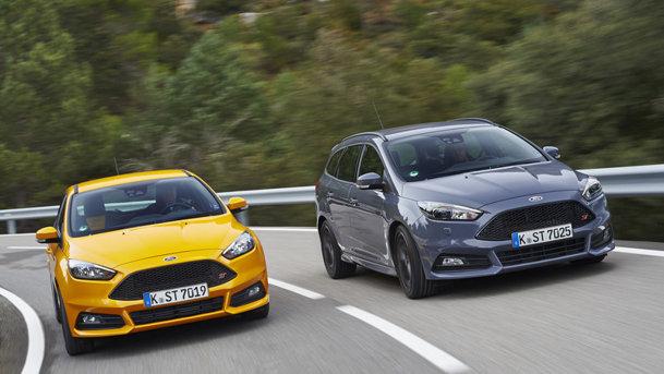 TEST în premieră cu Ford Focus ST facelift. Acum şi diesel!
