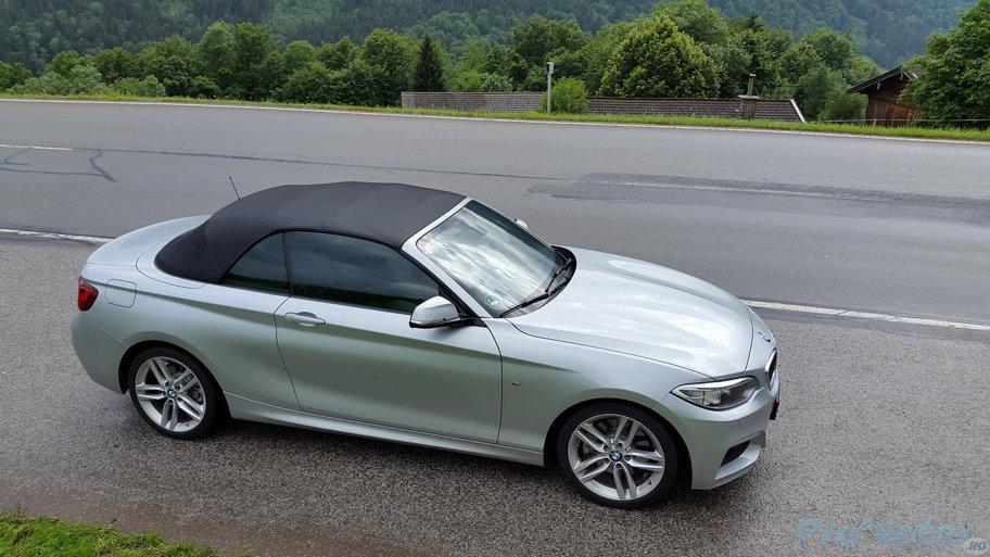 TEST BMW Seria 2 Cabrio 228i: relaxat şi furios
