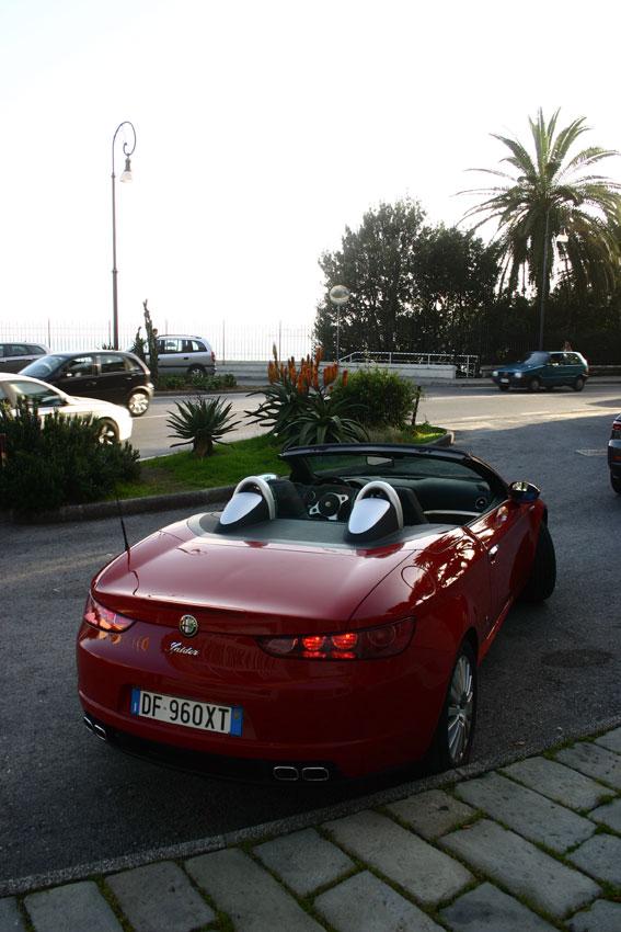 Alfa Romeo Spyder - test