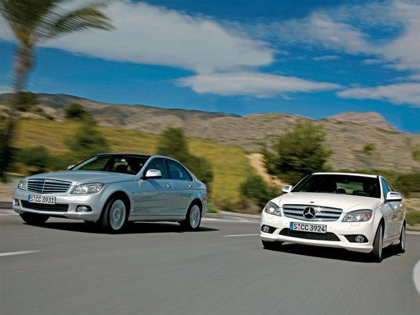 TEST cu Mercedes C-Class
