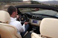 400 km in Ferrari California...