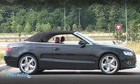 Audi A5 Cabrio, elegant si capotat