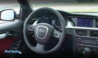 Acelasi interior cu Audi A5 coupe