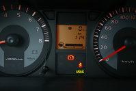 Martorul AS&G indica funcţionarea sistemului stop&go