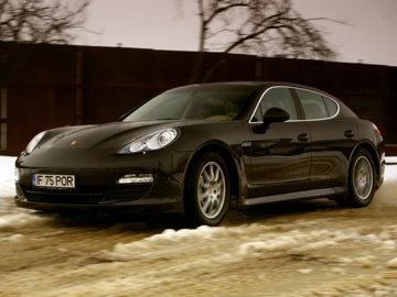 Porsche Panamera - test in RO