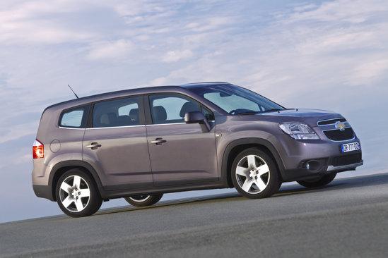 Noul Chevrolet Orlando este primul van compact oferit de Chevrolet