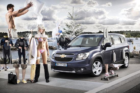 Chevrolet Orlando se dovedeste o masina de familie foarte surprinzatoare, in detaliu