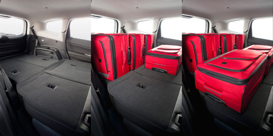 Chevrolet Orlando ofera o modularitate buna si un spatiu interior suficient pentru bagaje