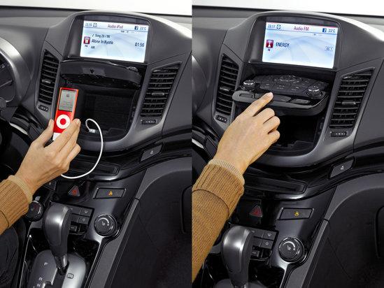 Chevrolet Orlando ofera o idee inedia: un buzunar ascuns in consola centrala