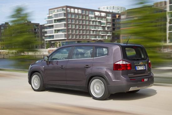 Chevrolet Orlando se dovedeste surprinzator de silentios la viteze mari