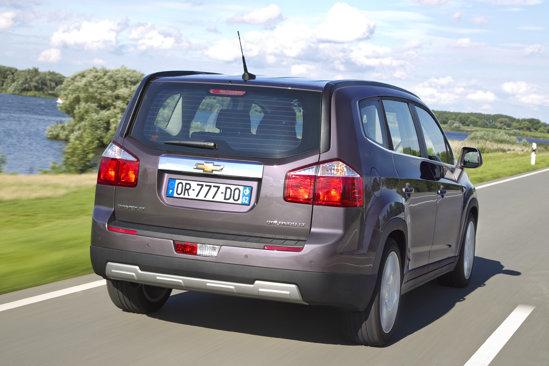 Chevrolet Orlando dovedeste un comportament rutier corect, cu o dinamica medie
