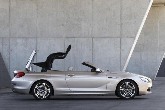 Soft-top-ul lui BMW Seria 6 Convertible coboara in 19 secunde si se ridica in 24