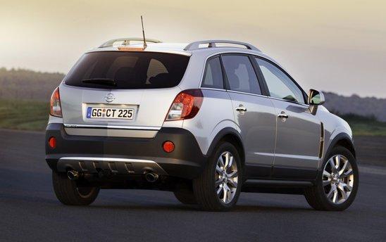 Opel Antara facelift ramane un concurent important pentru Ford Kuga si VW Tiguan