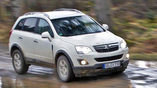 TEST cu Opel Antara facelift în Scoţia