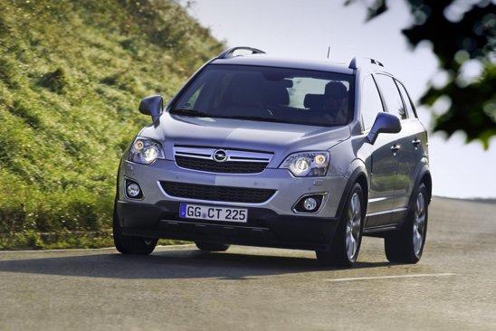 Opel Antara facelift demonstreaza o tinuta de drum mult imbunatatita, dar si un foarte bun confort