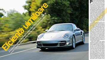 Test în America: Porsche 911 Turbo S