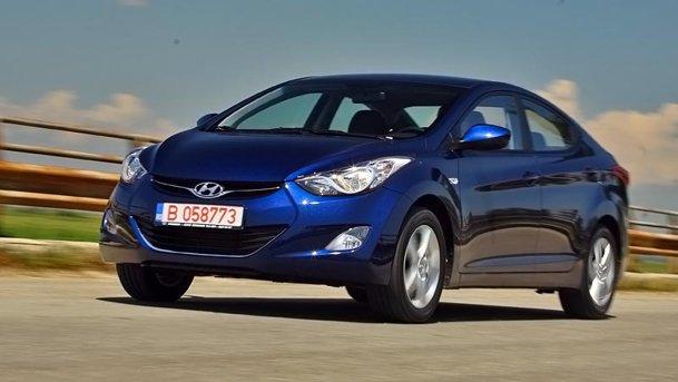 Am luat contactul cu noul Hyundai Elantra 1.6 MPI
