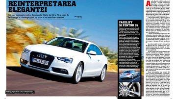 Primul test cu noul Audi A5