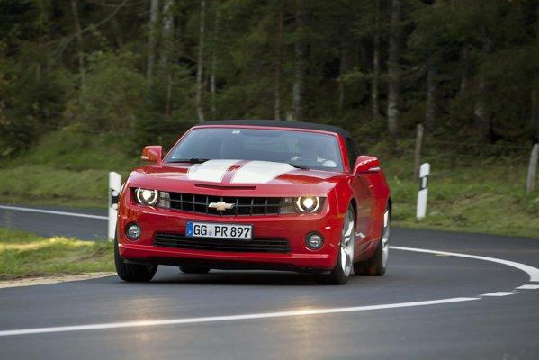 V8-ul de pe Chevrolet Camaro are un sunet ravisant