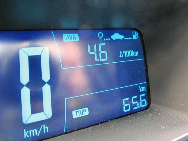 In scurtul test-drive din Elvetia, am obtinut o valoare multumitoare, de 4,6 litri/100 km