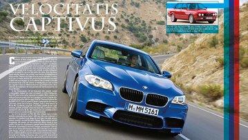 Test în premieră - noul BMW M5!