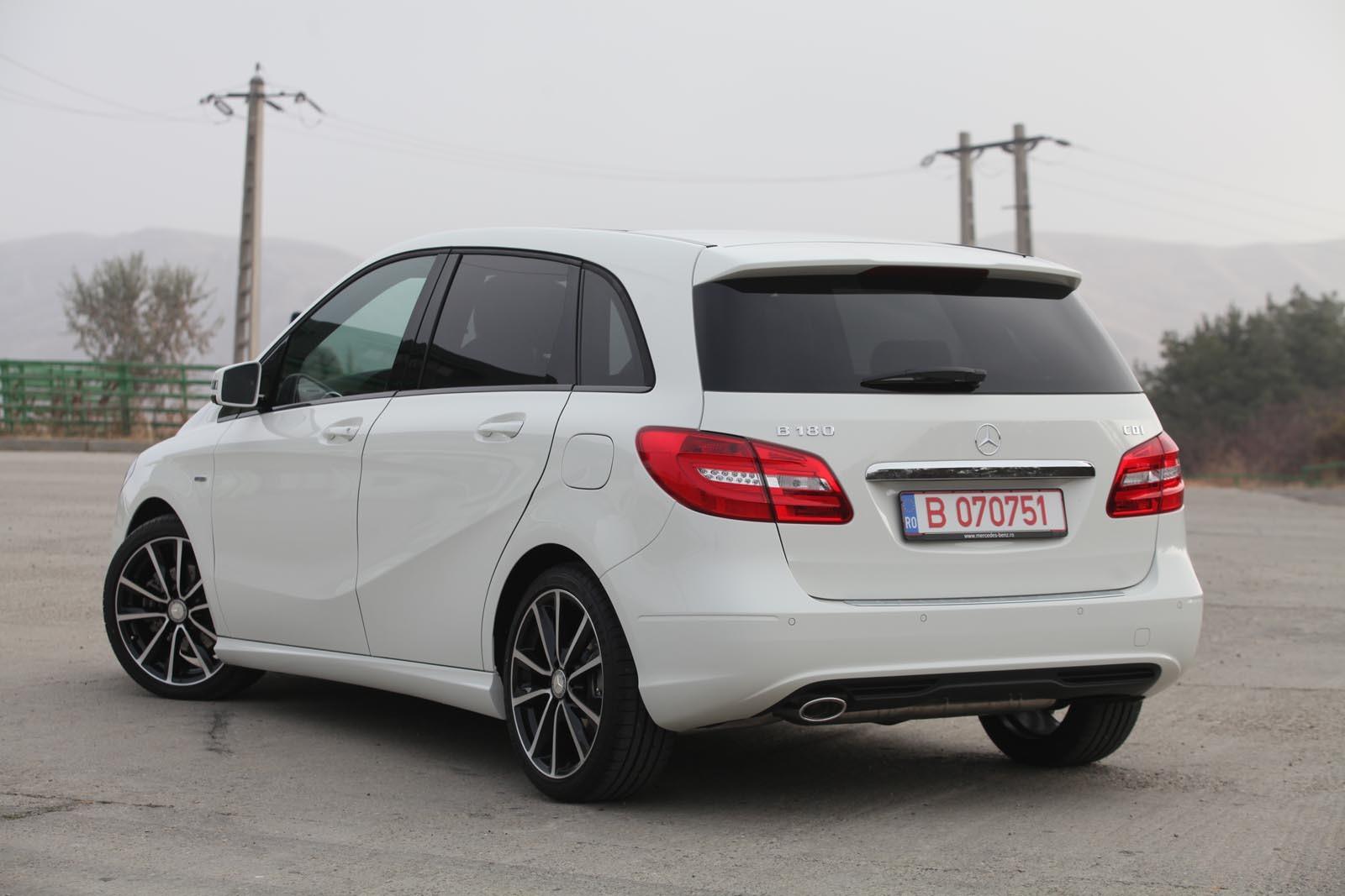 Imagini test n rom nia cu noul mercedes benz b class for Mercedes benz class b