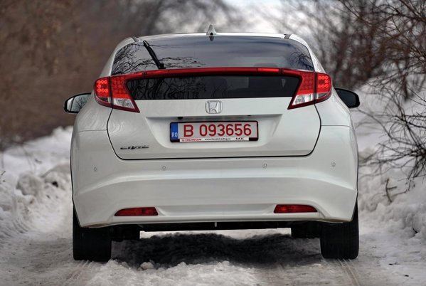 Designul noii Honda Civic a fost influentat mult de aerodinamica