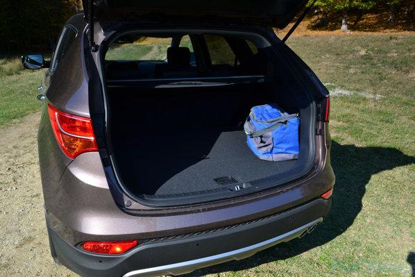 Hyundai Santa Fe 2012 portbagaj