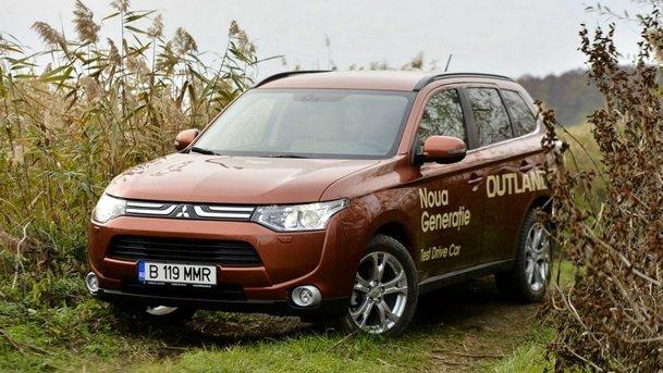 TEST: Noul Mitsubishi Outlander 2012: confort înainte de toate
