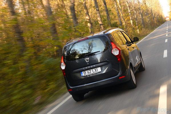 Dacia Lodgy, rear view
