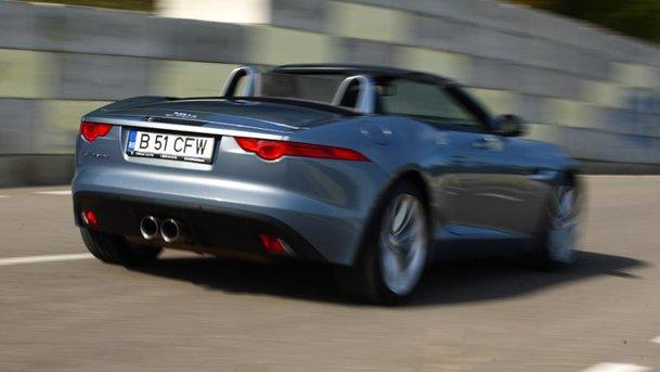 Condusă în România: Jaguar F-Type. Factorul WOW