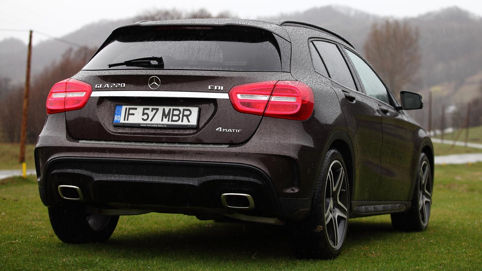 Test în România: Mercedes-Benz GLA 220 CDI 4MATIC. A-ul crossover