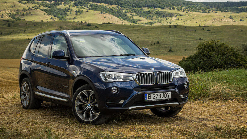 test cu bmw x3 facelift pachet mbun t it. Black Bedroom Furniture Sets. Home Design Ideas