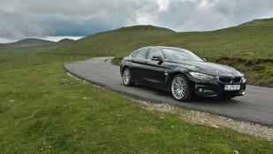 TEST. Cu BMW Seria 4 Gran Coupe pe Transbucegi. Rechinul de cursă lungă