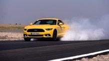 TEST: cu noul Ford Mustang pe circuit în România. 'MURICA
