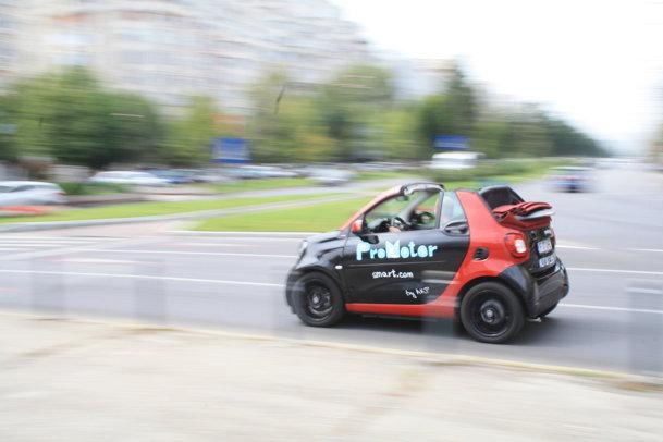 TEST cu noul smart cabrio - O experienţă fără surogat - GALERIE FOTO