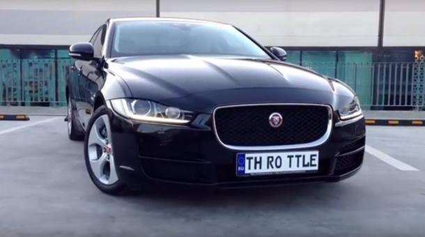 În cât timp accelerează de la 0-100 de km/h un Jaguar XE, pe străzile din România [VIDEO]