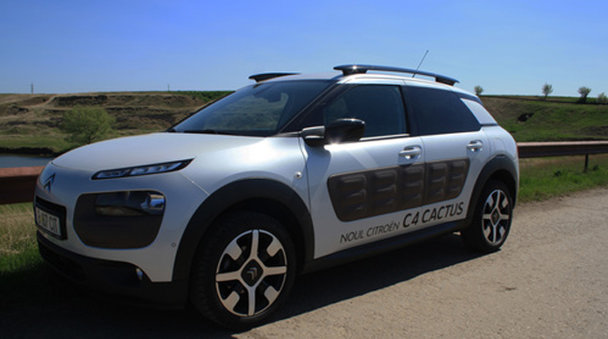 """Test drive Citroen C4 Cactus - O săptămână cu cel mai prietenos """"cactus"""" [FOTO]"""