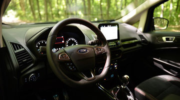 Test drive cu Ford EcoSport 1,0 EcoBoost ST Line 140 CP – Partea I: Consumul