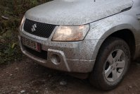 Suzuki Grand Vitara loves mud!