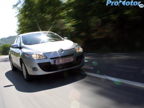 Renault Megane este foarte placut de condus la drum lung
